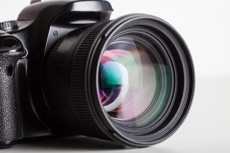 Foto de Close-up of a digital reflex - Imagen libre de derechos