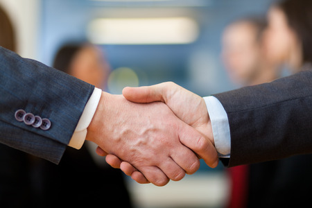 Photo for Business handshake - Royalty Free Image