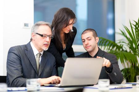 Foto de Business people at work - Imagen libre de derechos