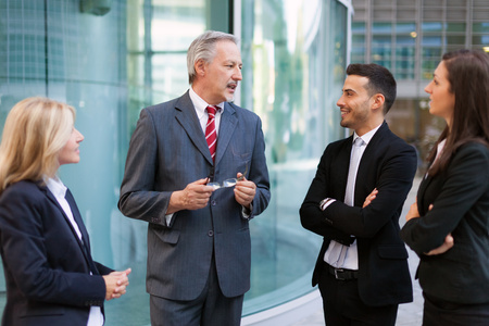 Photo for Group of business people discussing - Royalty Free Image