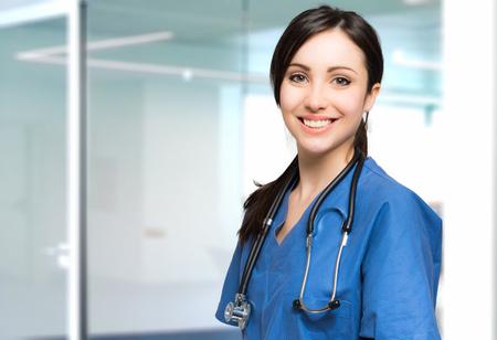 Foto de Young nurse portrait - Imagen libre de derechos