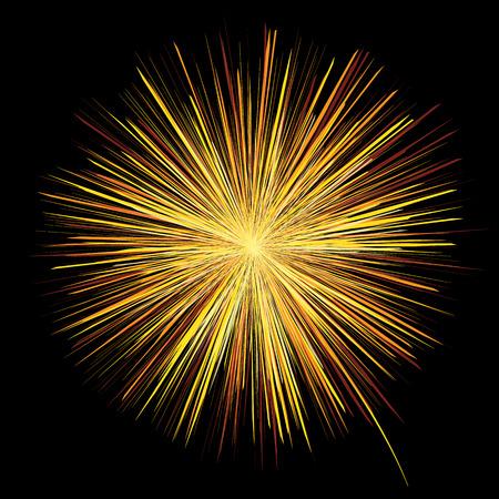 Ilustración de Firework vector design for Festival. - Imagen libre de derechos
