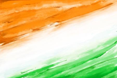 Illustration for  Indian Flag - Royalty Free Image
