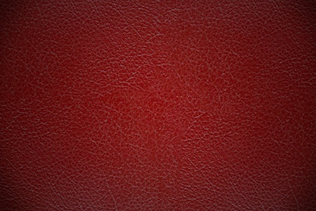 Photo pour Red leather cover texture background - image libre de droit
