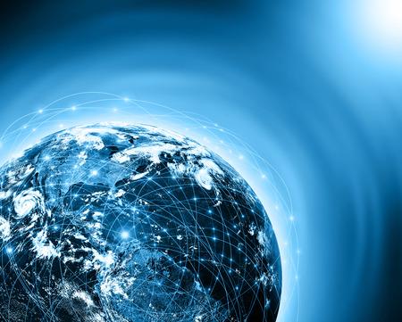 Photo pour Best Internet Concept of global business from concepts series - image libre de droit