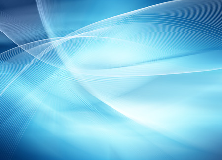Foto per Abstract blue background, beautiful lines and blur - Immagine Royalty Free