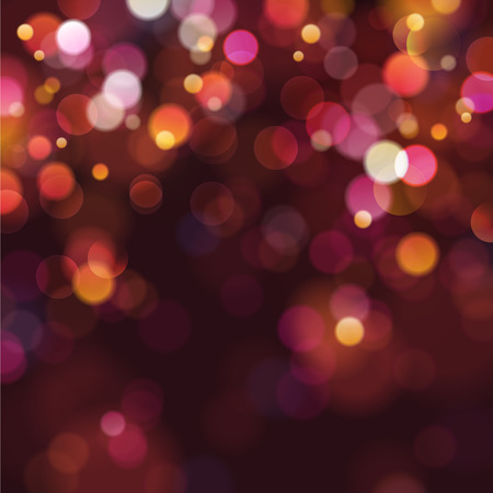 Illustration pour defocused christmas lights - image libre de droit