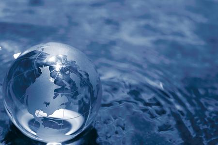 Photo pour glass globe - image libre de droit