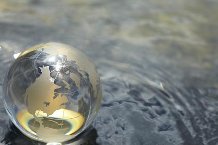 Foto de glass globe - Imagen libre de derechos