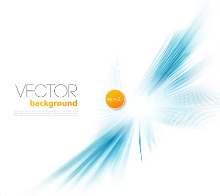Ilustración de Vector Abstract template  background brochure design blue line - Imagen libre de derechos