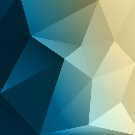 Foto de Vector Abstract colorful low poly geometric background. Template brochure design - Imagen libre de derechos