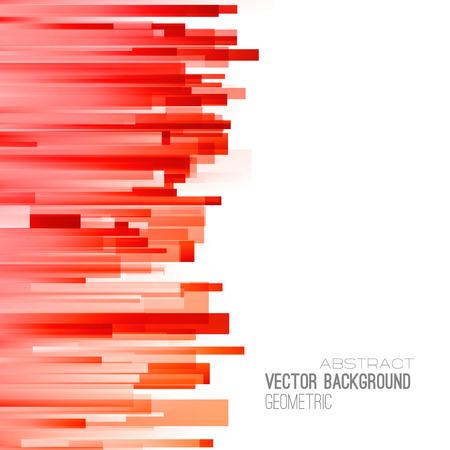 Ilustración de Abstract geometric background with color lines. Vector illustration. Brochure design - Imagen libre de derechos