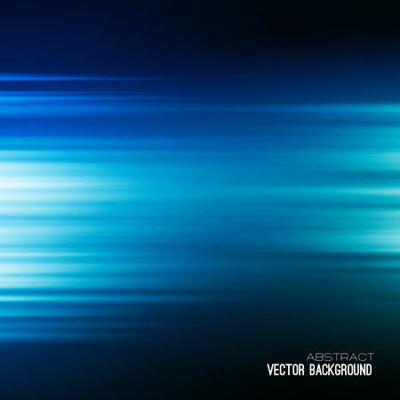 Ilustración de Blue Abstract vector backgrounds. Rays of light. - Imagen libre de derechos
