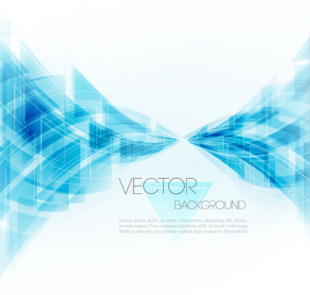 Photo pour Vector Abstract Geometric Background. Triangular design. - image libre de droit