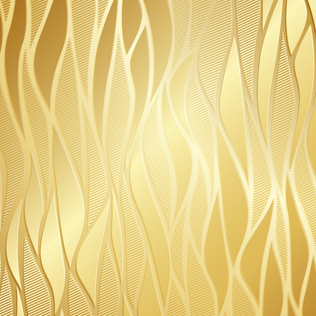 Illustration pour Luxury golden wallpaper.  - image libre de droit