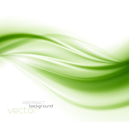 Illustration pour Beautiful Green Satin. Drapery Background, Vector Illustration - image libre de droit