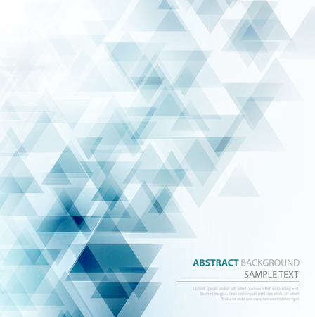 Ilustración de Vector Abstract Geometric Background. Triangular design. EPS 10 - Imagen libre de derechos