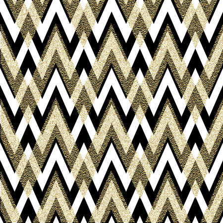 Photo for Pattern in zigzag. Classic chevron seamless pattern. Vector design - Royalty Free Image