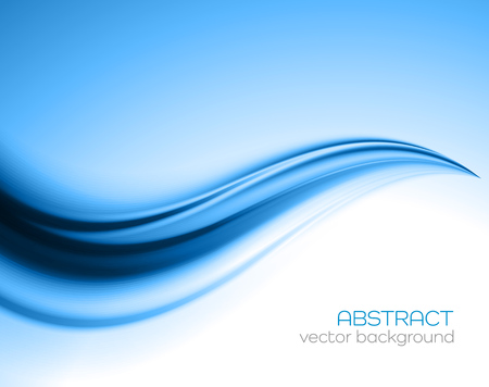 Ilustración de Beautiful Blue Satin. Drapery Background, Vector Illustration - Imagen libre de derechos