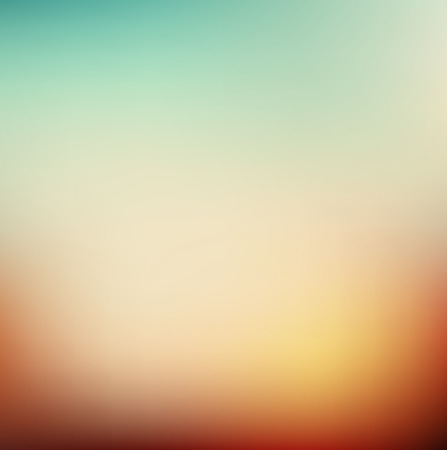 Photo pour Vector illustration of soft colored abstract background. Summer light background - image libre de droit