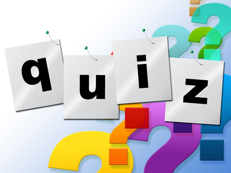 Photo for Quiz Questions Representing Faq Test And Ask - Royalty Free Image
