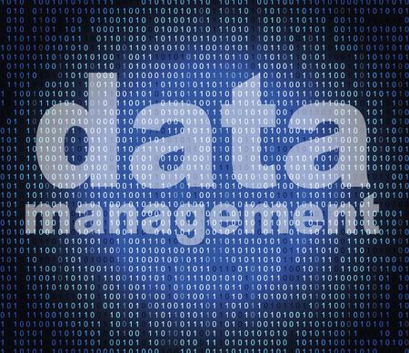 Foto de Management Data Representing Fact Directors And Facts - Imagen libre de derechos