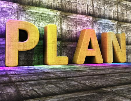 Foto de Plan Word Showing Project Management And Idea - Imagen libre de derechos