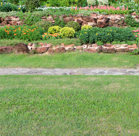 Photo for Garden landscape - Royalty Free Image