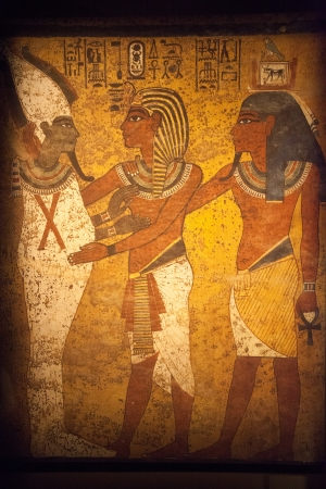 Scene from Egyptian Wall Mur mural