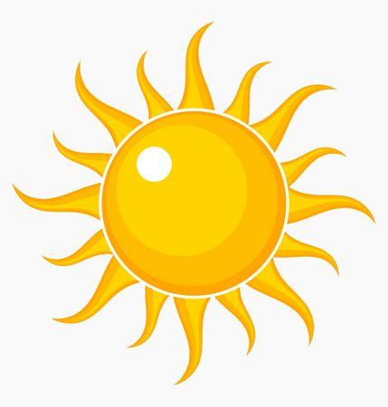 Ilustración de Sun icon. Vector illustration - Imagen libre de derechos