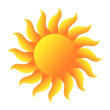 Ilustración de Sun. Vector illustration - Imagen libre de derechos