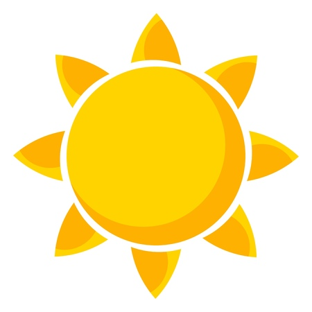 Photo for Sun. Vector illustration - Royalty Free Image