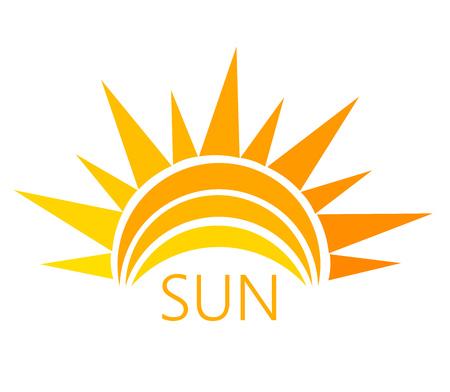 Ilustración de Sun symbol. Vector illustration - Imagen libre de derechos