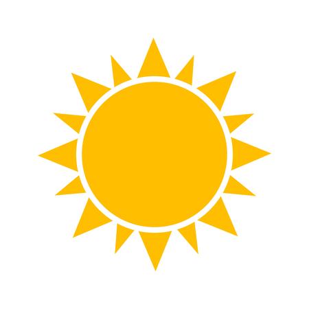 Ilustración de Sun icon. - Imagen libre de derechos