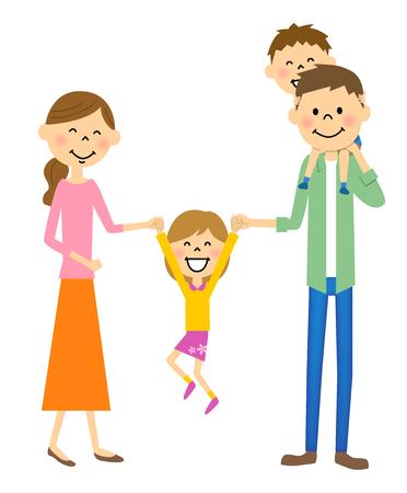 Girls to jump among parents