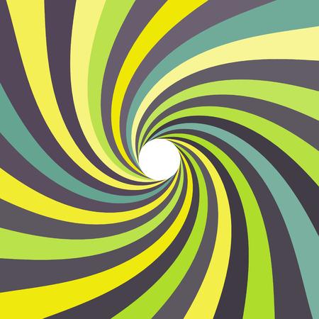 Ilustración de 3d spiral abstract background - Imagen libre de derechos