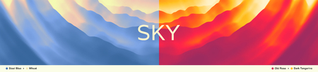 Ilustración de Sky with clouds. Modern pattern. Nature background. Modern pattern. Abstract background. Vector illustration. - Imagen libre de derechos