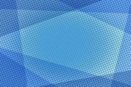 Ilustración de Blue halftone background - Imagen libre de derechos