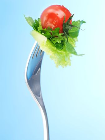 Photo pour Healthy Eating concept - image libre de droit