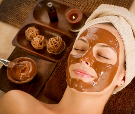 Chocolate Mask Facial Spa  Beauty Spa Salon