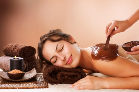 Spa Chocolate Mask  Luxury Spa Treatment