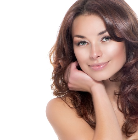 Photo for Beauty Portrait  Clear Fresh Skin  Skincare  - Royalty Free Image