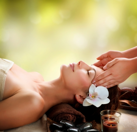 Photo for Spa Facial Massage - Royalty Free Image