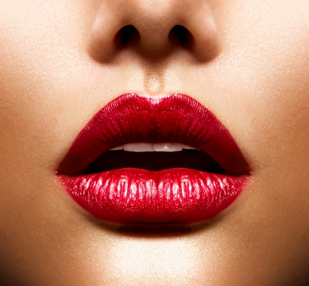Sexy Lips  Beauty Red Lips Makeup