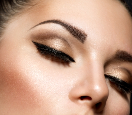 Eye Makeup  Beautiful Eyes Retro Style Make-up