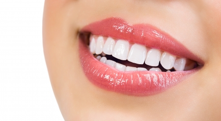Foto de Healthy Smile  Teeth Whitening  Dental care Concept  - Imagen libre de derechos
