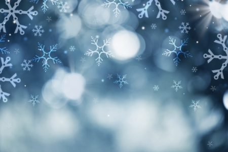 Winter Holiday Snow Background  Christmas Abstract Backdrop