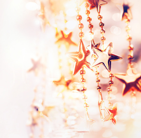 Photo pour Christmas Holiday Abstract Background with Stars - image libre de droit