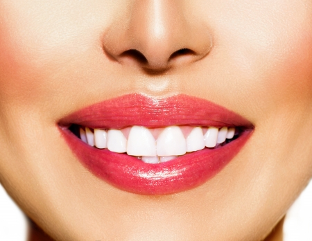 Photo for Healthy Smile  Teeth Whitening  Dental Care Concept - Royalty Free Image