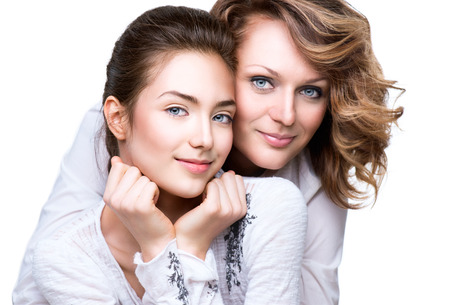 Photo for Mother and Teen Daughter - Royalty Free Image